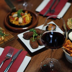 Tapas & Wine at Mimosa Bar de Tapas